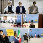 دیدار جمعی از معتمدین شهرباغستان فردوس با حجت الاسلام والمسلمین سید علیرضا عبادی