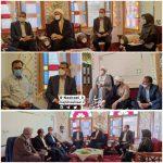 دیدار و گفتگوی حجت الاسلام نصیرایی با منتخبین مردم در شورای اسلامی شهر باغستان