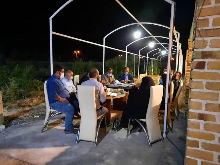 برگزاری جلسه مشورتی با حضور اعضای شورا و شهردار با اعضای شورا  و دهیاری  باغستان سفلی